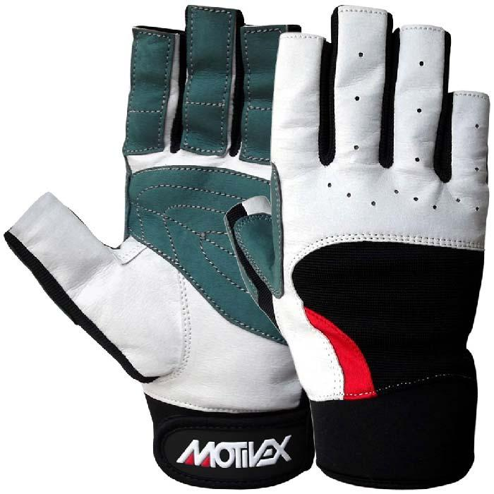 Motivex Sailing Gloves - Sailing Gloves Gray Short Finger 8687-11