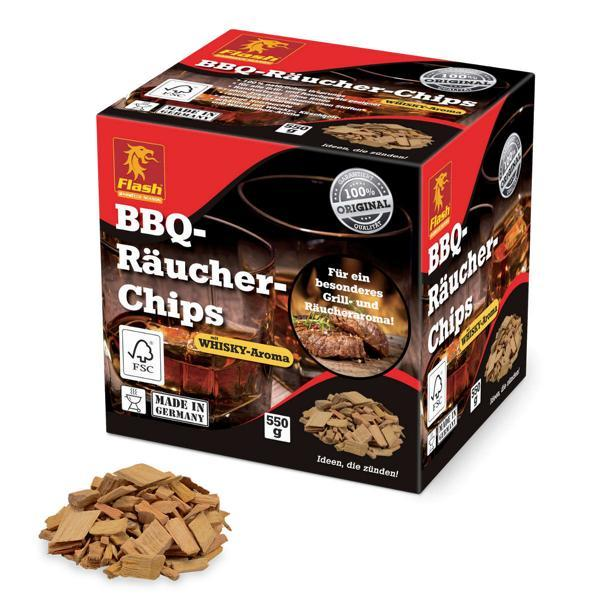 FLASH Räucher-Chips Whiskey 550 g FSC -