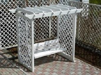 Малые архитектурные формы из дерева - Изделия из дерева для благоустройства территории загородного дома