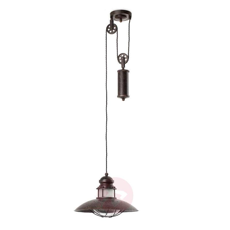 Height-adjustable Winch Pendant Lamp - Pendant Lighting