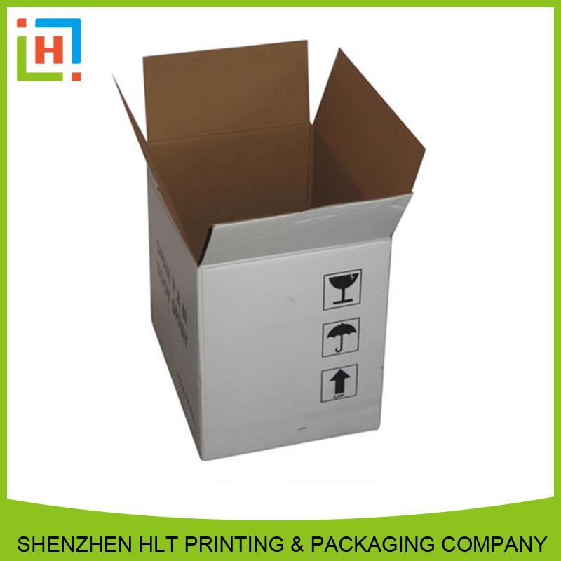 white kraft shipping box - Kraft box