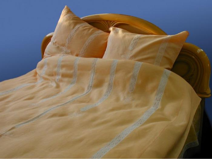 """Bed line set """"Waterfall yellow"""" -"""