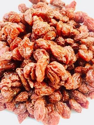 Dried fully organic goji berries -