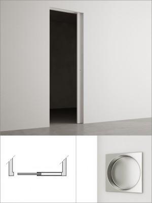 Sliding door cm 60×210 - Invisible sliding door 60×210