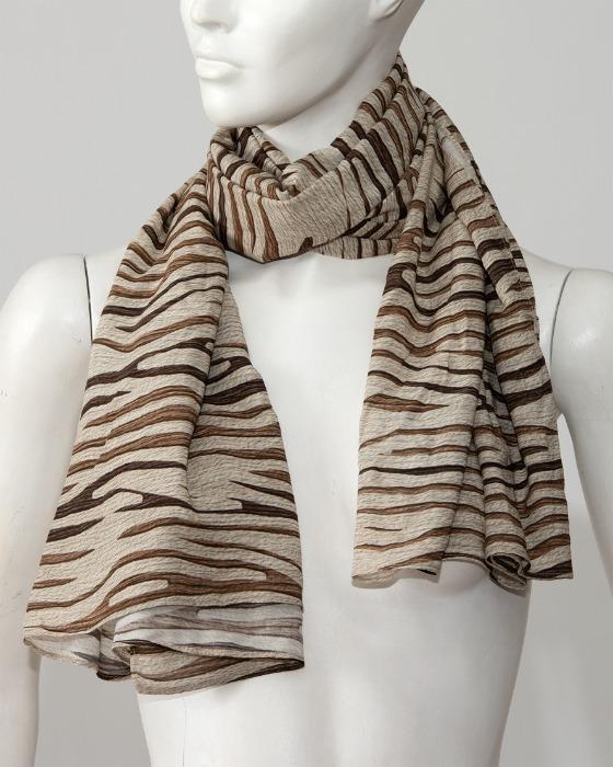 Páreo e lenço de Praia - Saída de praia com motivo zebra