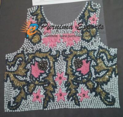 Embroidered Panels - Hand Embroidery Job Work - Custom Embroidery development services | Exporters in India