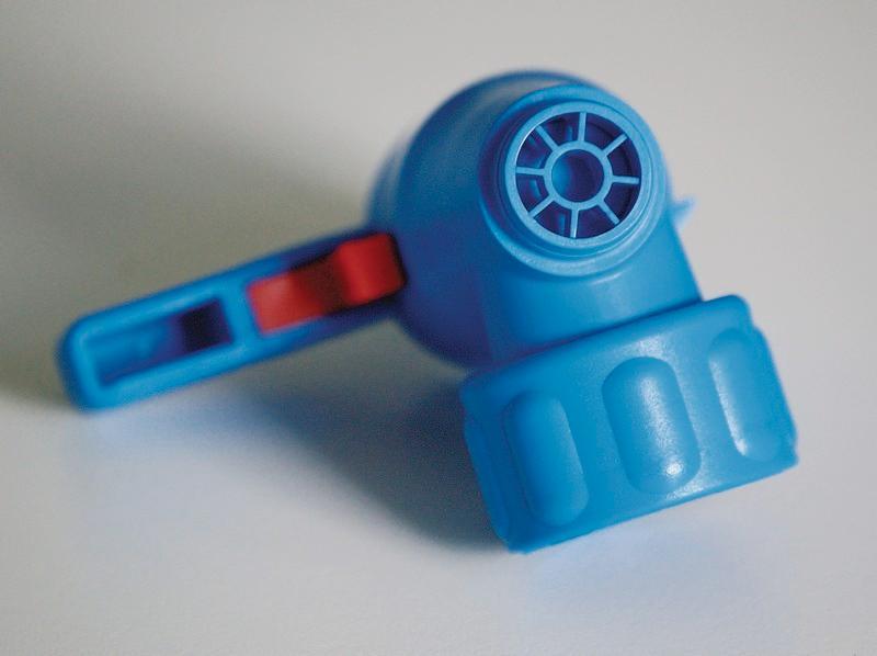 Compact spigot - Drain cock, short discharge