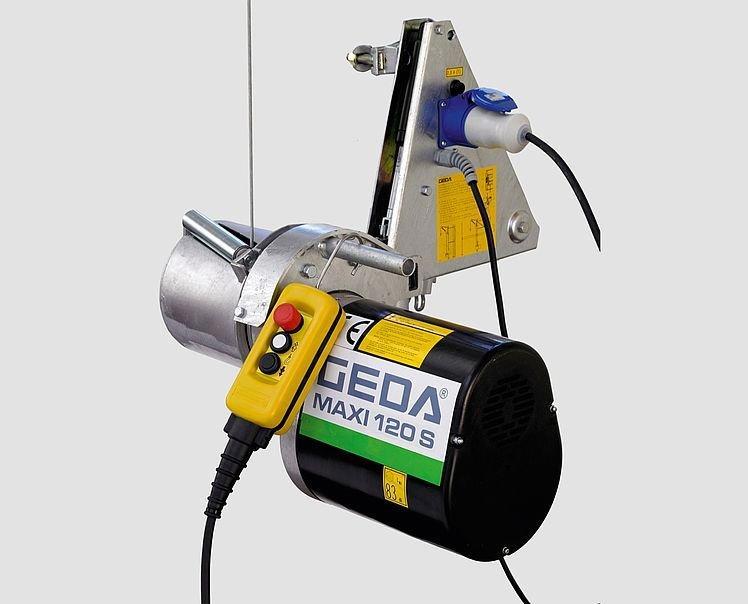 GEDA MAXI 120 S - GEDA MAXI 120 S - Rope Hoists