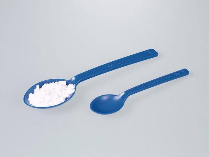Cuillère pour aliments, bleue - Peut être utilisé dans le cadre de la gestion des corps étrangers HACCP/IFS/BRC
