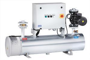 preheating unit - KVE