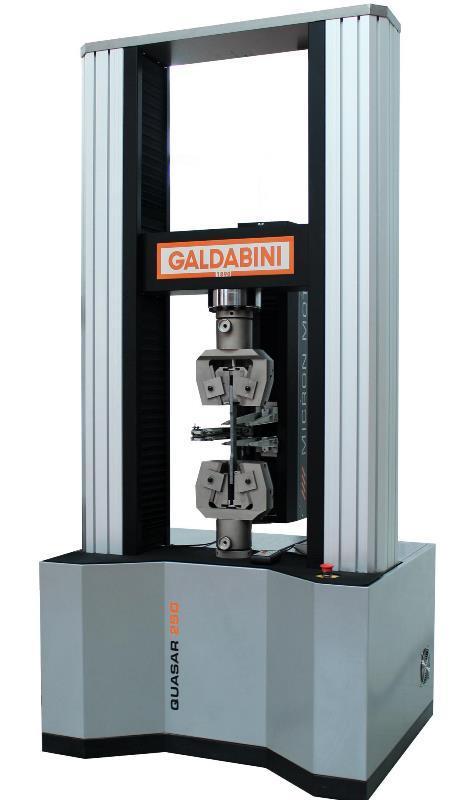 QUASAR 250 Zugprüfmaschine Materialprüfmaschine - Zugprüfmaschine bzw. Universalprüfmaschine GALDABINI - echte Alleskönner