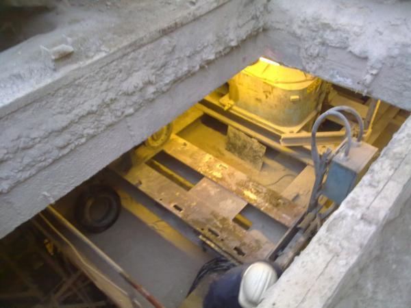 Modification châssis moteur Broyeur - Maintenance électro-mécanique sur site