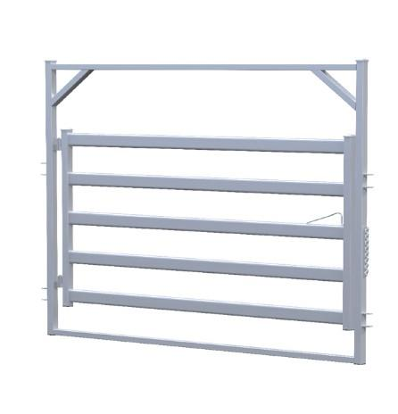 bull rail animal fence metal arch gate equipment for sheep f - horse/cattle/sheep fence panel/gate