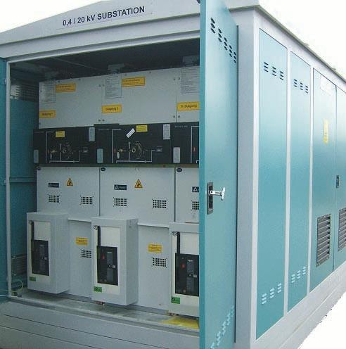 Sheet Metal Kiosk Substations