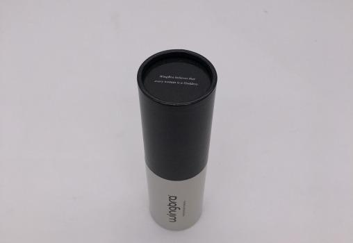 luxury custom printed round paper tube with paper lid - round paper tube, gloss lamination