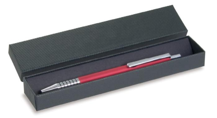 Writing instrument cases with corrugated structure paper -