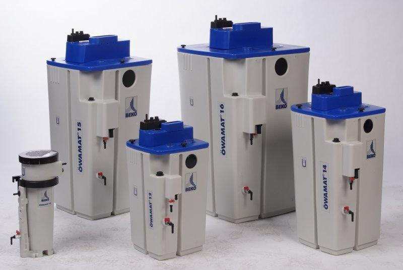 Separador de condensado agua-aceite - Separación de condensado agua-aceite
