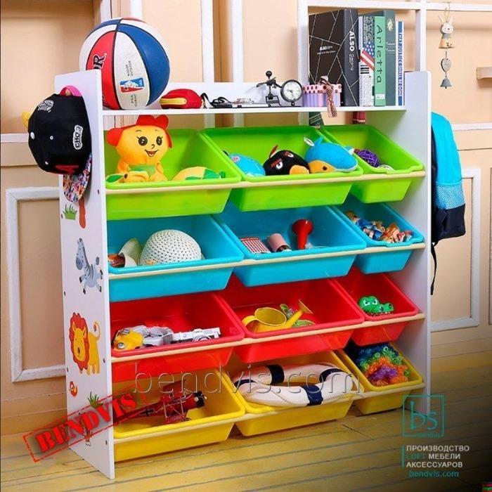Стеллаж для игрушек от Бендвис | Shelving for toys | - Торговое оборудование для хранения и продажи игрушек