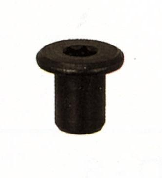 FRHH SLEEVE NUT FLAT HEAD IN BURNISHED IRON - Chairs fittings
