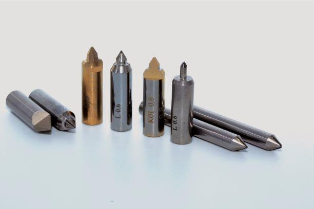 PCD & K01 marking tool  - PCD & carbide marking tool