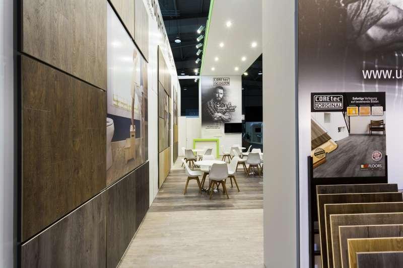 US Floors - Project - Salon : Domotex