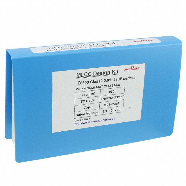 CAP KIT CER 0.01UF-22UF 1000PCS - Murata Electronics North America GRM18-KIT-CLASS2-DE