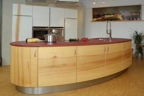 Runde Kücheninsel New wave