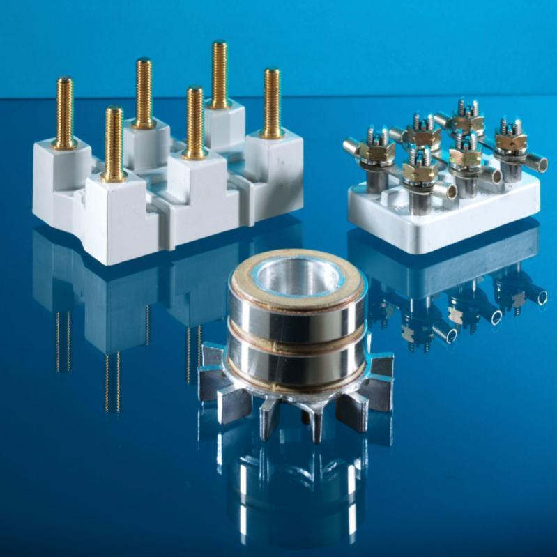 slip ring, collector - signal and measuring currents are thus transmitted from stationary to rotating