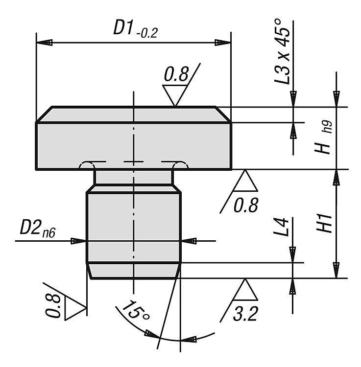 Rest Pads - Drilling jigs Drill bushes Jig elements
