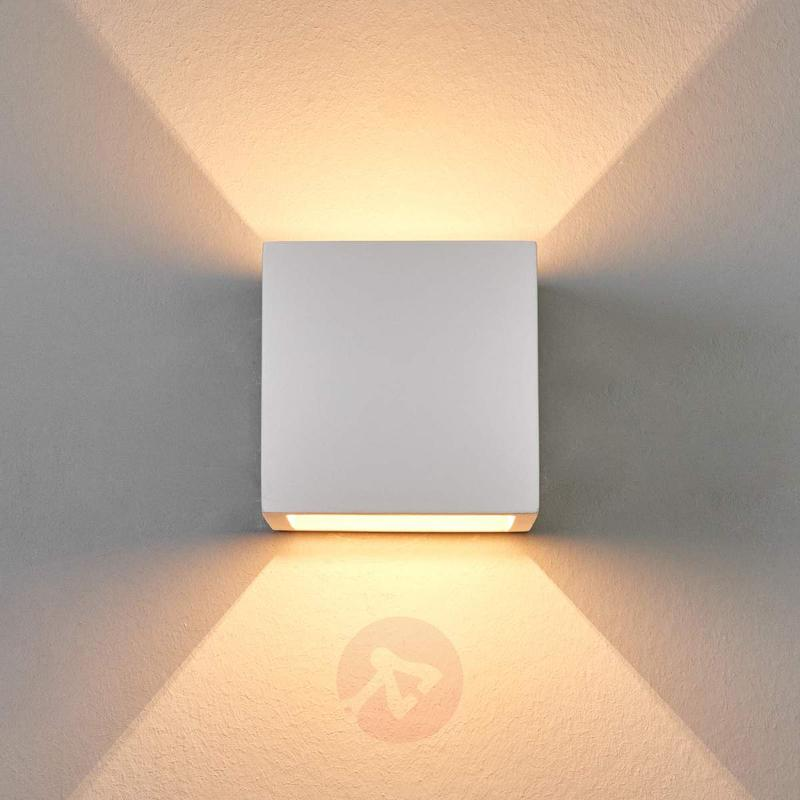 Freja Halogen Wall Light Discreet Plaster - Wall Lights