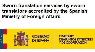 English to Spanish sworn translators
