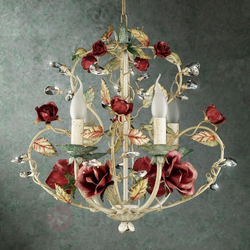 Ravissant lustre FLORENZ - Suspensions style florentin