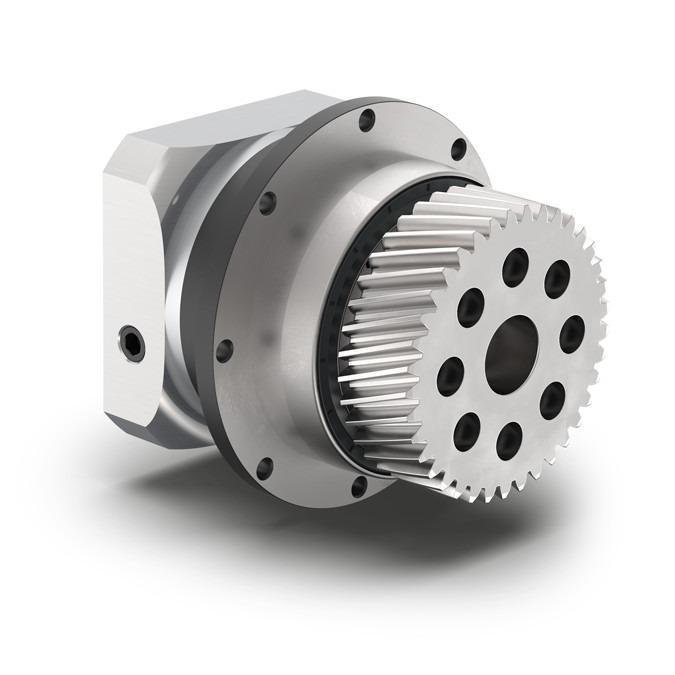 Redutor planetário com pinhão integrado PLFN - Redutor de precisão com flange de saída - Engrenagem reta - IP65 - NEUGART
