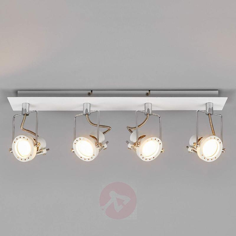Agidio LED ceiling lamp, 4-light - Ceiling Lights