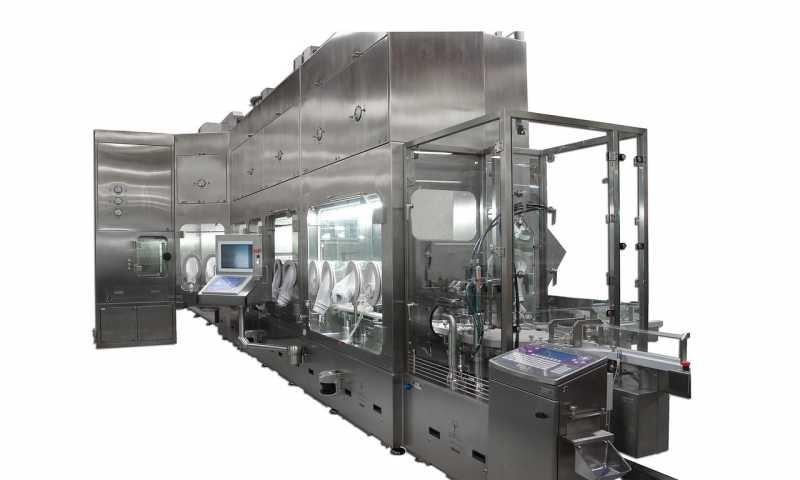 Turnkey with isolator - Turnkey | INOVA WMR 600, SHT 19 S, VFVM 7042, EVK 700, Isolator METALL+PLASTIC