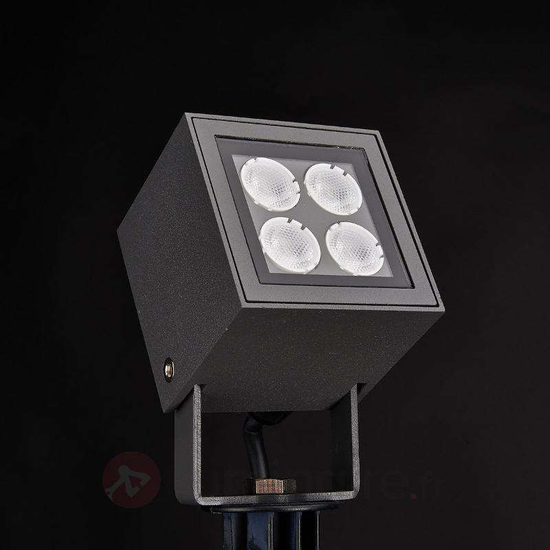 Projecteur LED sur piquet Charlie pr l'ext IP65 - Lampes à planter