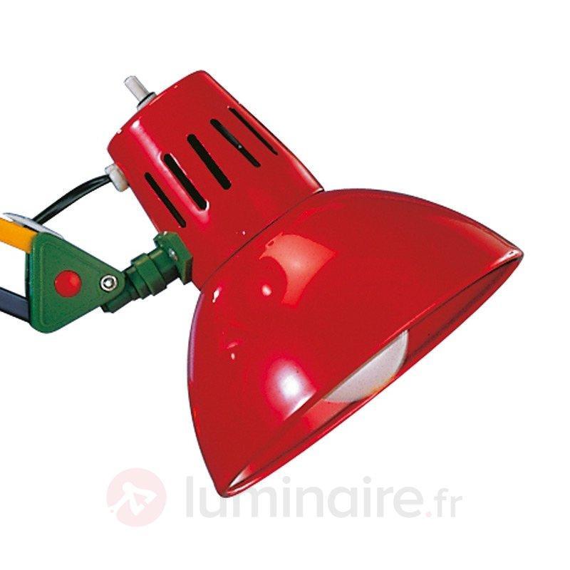 Lampe pince colorée TALIDA - Lampes de bureau