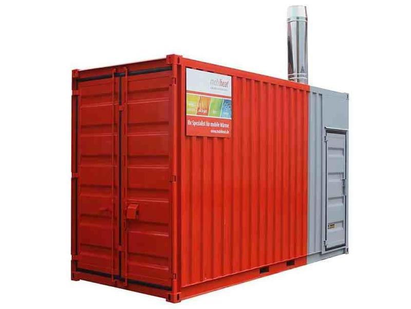 Vermietung orange-line - Heizcontainer MH600C