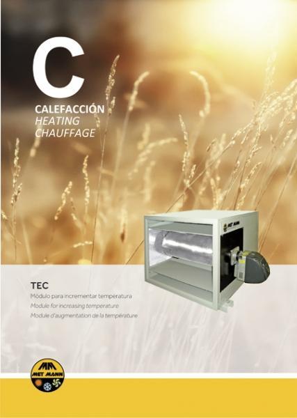 Cabinas para incrementar la temperatura del aire de 50 a 145 - modulo para calentar el aire en cabinas de secado