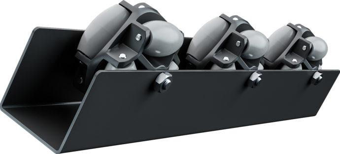 Polydirectional roller rail, ARL series - To turn, sort and shift flat conveyed items.