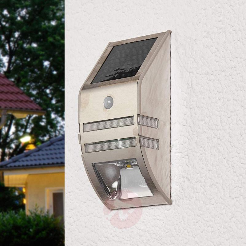 Sol WL-2007 LED solar wall light with MD - Solar Motion Sensor Lights