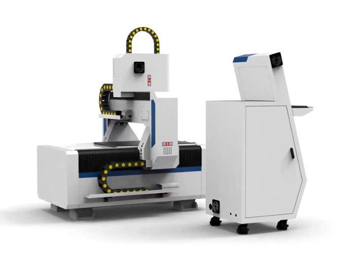 CNC Portal Milling Machine T-Rex Servo-0609 CNC Wood Router  - Portal Milling Machine with central lubrication, cintrol panel & vacuum table
