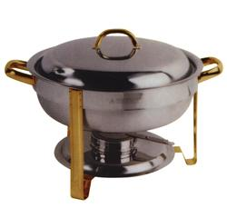 Add-on cooking appliances - CHAFING DISH FOR SOUPS 7.5LT. DIAM.300X340MM