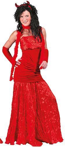 Costume contesse rouge, stock limité - Décoration et déguisements pour Halloween