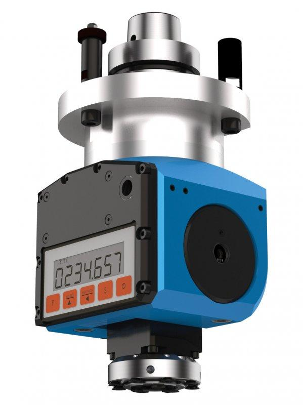 Adjustable angle head FLEX D (manually adjustable) - CNC unit for machining of wood, composites and aluminium