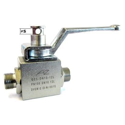 Ball Valves - Stainless steel block ball valve GE5