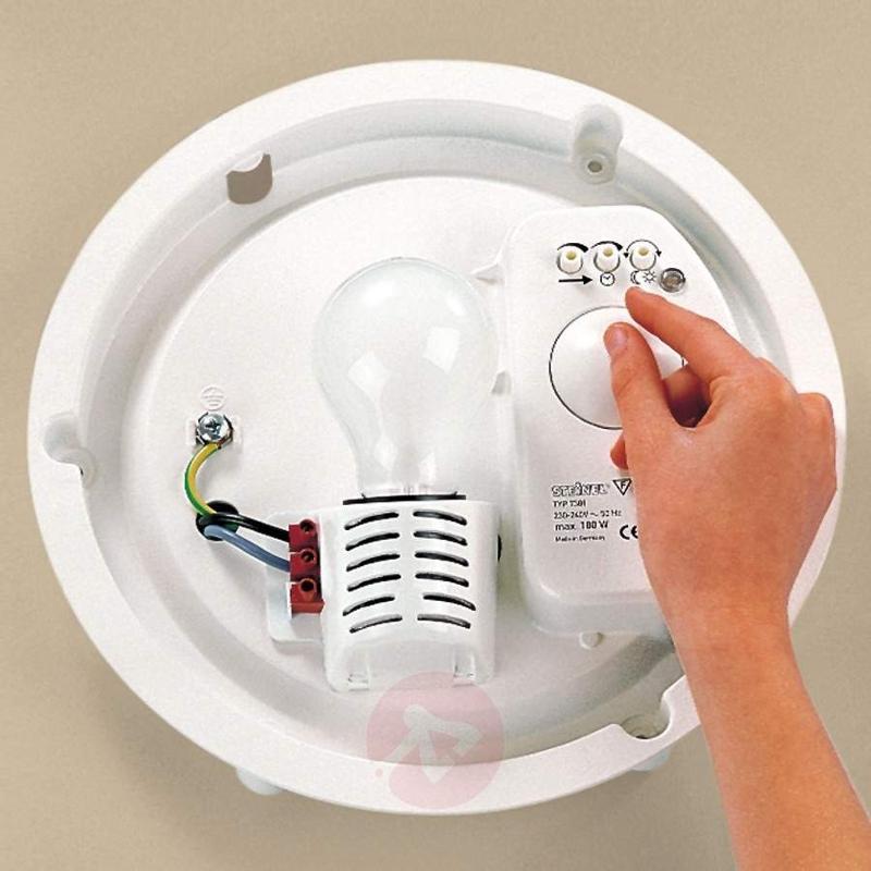 Steinel RS 10-1 HF Interior Sensor Light White - Ceiling Lights