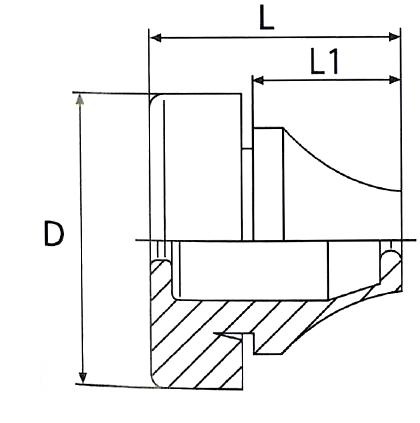 NH334 - Passe-fil étanche - Passe-fils