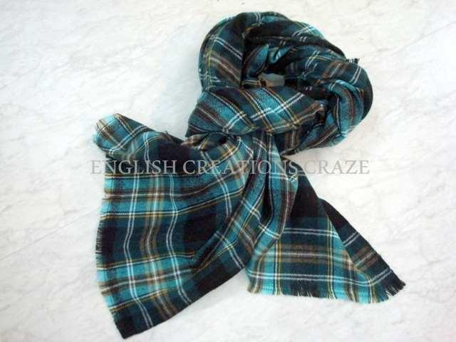 Acrylic Solid Scarves - Acrylic Solid Scarves