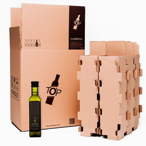 [Aceite] Cajas de cartón para botellas de Aceite